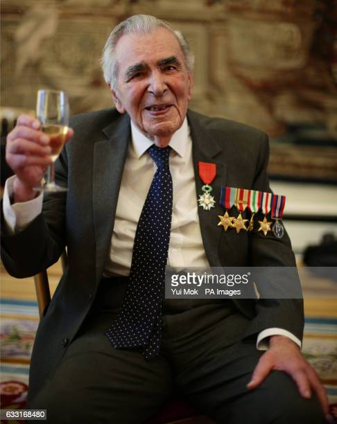 Oliver LucasHodge from Bedfordshire Signalman in the Royal Navy during a ceremony for the Legion dOtildehonneur France's highest distinction during a...
