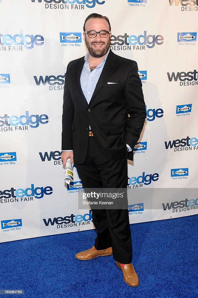 Oliver M. Furth attends WestEdge Design Fair at Barker Hangar on October 3, 2013 in Santa Monica, California.