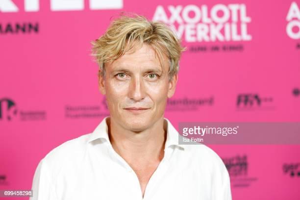 Oliver Masucci attends the 'Axolotl Overkill' Berlin Premiere at Volksbuehne RosaLuxemburgPlatz on June 21 2017 in Berlin Germany