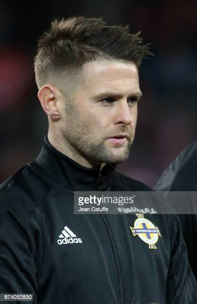 Oliver Norwood of Northern Ireland during the FIFA 2018 World Cup Qualifier PlayOff Second Leg between Switzerland and Northern Ireland at St...