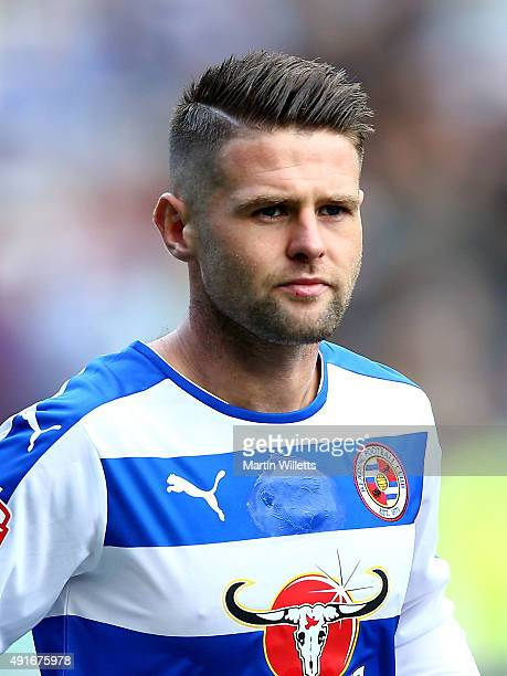 Oliver Norwood of Reading during the Sky Bet Championship match between Reading and Middlesbrough at Madejski Stadium on October 3 2015 in Reading...