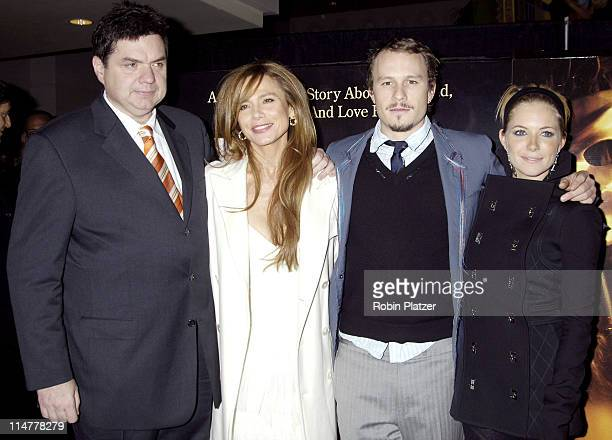 Oliver Platt Lena Olin Heath Ledger and Sienna Miller