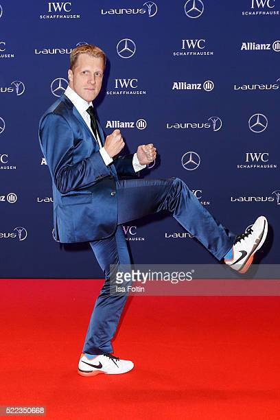 Oliver Pocher attends the Laureus World Sports Awards 2016 on April 18 2016 in Berlin Germany