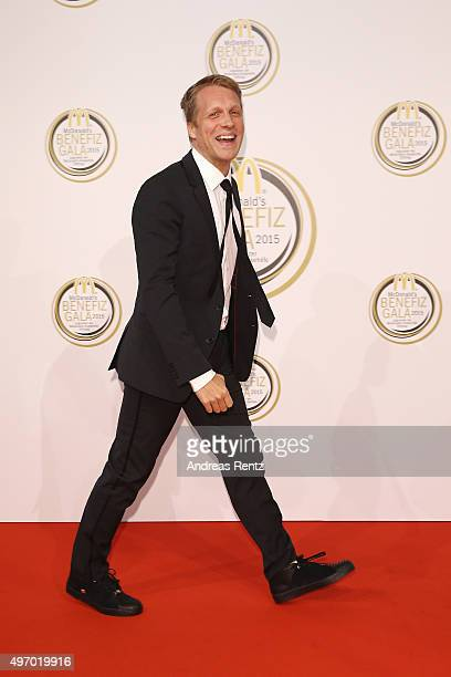Oliver Pocher attends the McDonald's charity gala on November 13 2015 in Cologne Germany