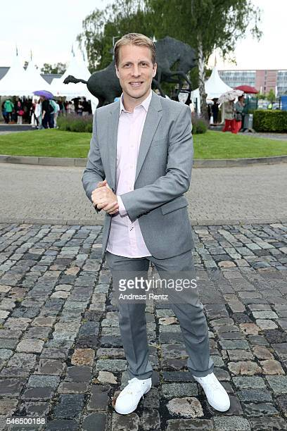 Oliver Pocher attends the media night of the CHIO 2016 on July 12 2016 in Aachen Germany