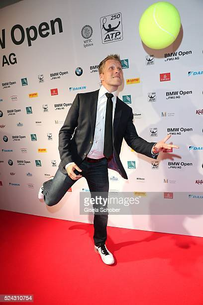 Oliver Pocher during the Players Night of the BMW Open 2016 tennis tournament at Iphitos tennis club on April 25 on April 25 2016 in Munich Germany