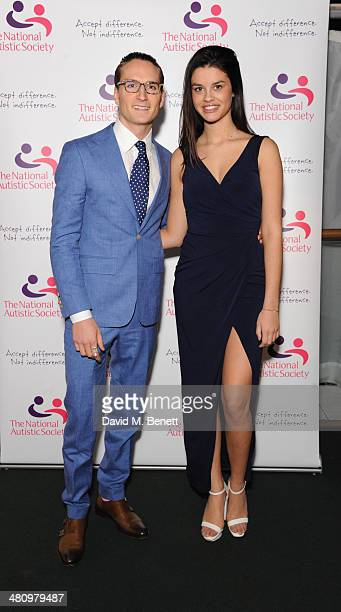 Oliver Proudlock and Grace McGovern attend Spectrum 2014 an annual fundraising event in support of the National Autistic Society to launch World...
