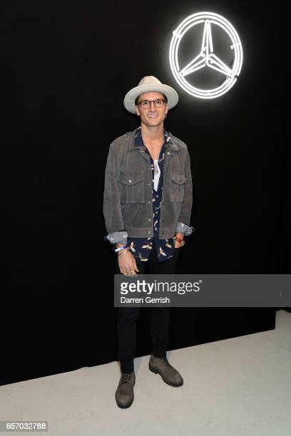 Oliver Proudlock attends the MercedesBenz #MBCOLLECTIVE Chapter 1 launch party with M I A and Tommy Genesis on March 23 2017 in London United Kingdom