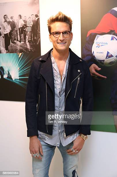 Oliver Proudlock attends the Reebok Classic 90's Collection Event on August 4 2016 at Rook and Raven Gallery in London England Anais Gallagher debuts...