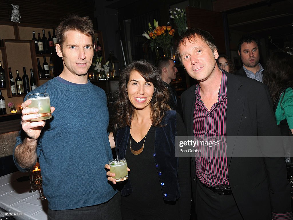 Oliver Ryan, Lauralee Kelly, Matthew Stepka attend the Out of Print Tribeca Film Festival After Party on April 25, 2013 in New York City.
