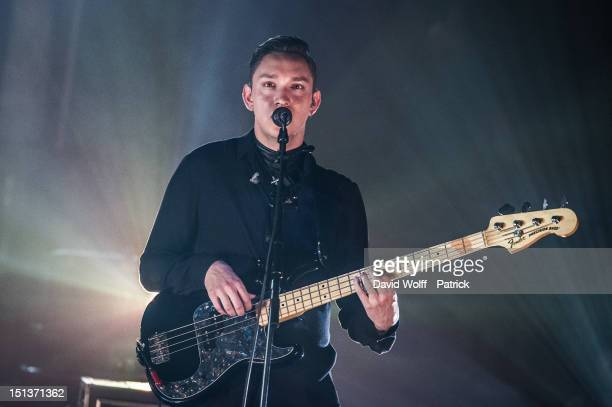 Oliver Sim from The XX Performs at Le Cirque d'Hiver on September 6 2012 in Paris France