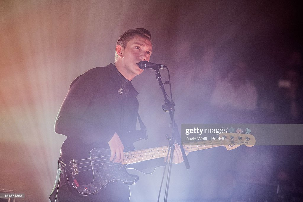 Oliver Sim from The XX Performs at Le Cirque d'Hiver on September 6, 2012 in Paris, France.