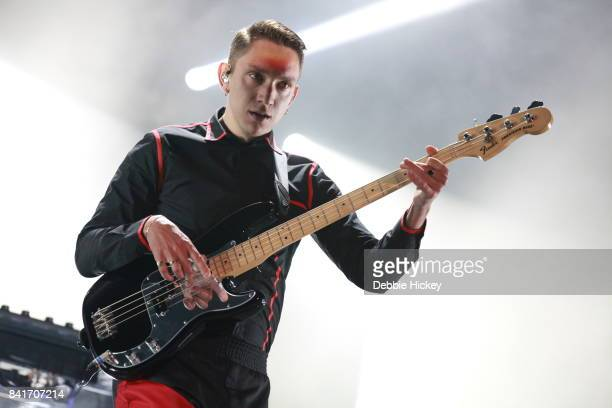 Oliver Sim of The XX performs at Electric Picnic Festival at Stradbally Hall Estate on September 1 2017 in Laois Ireland
