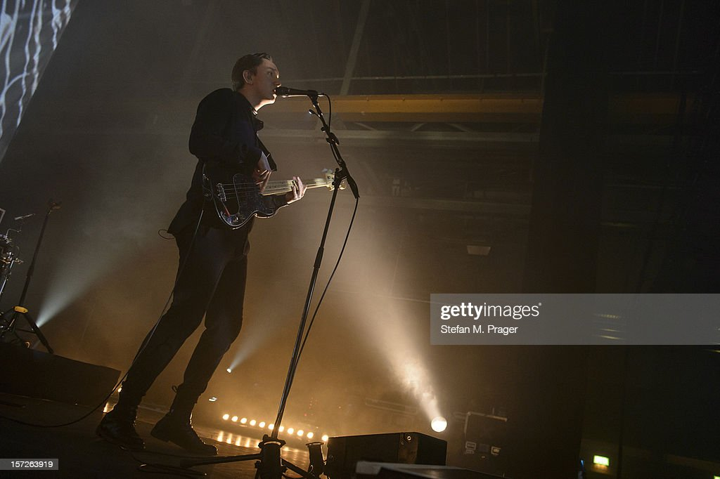 Oliver Sim of The XX performs at Zenith on November 30, 2012 in Munich, Germany.