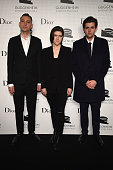 Oliver Sim Romy Madley Croft and Jamie xx of The xx attend the Guggenheim International Gala Dinner made possible by Dior on November 6 2014 in New...