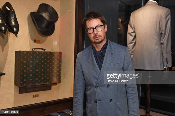 Oliver Spencer attends the launch of the 'Kingsman' shop on St James's Street in partnership with MR PORTER MARV Twentieth Century Fox in celebration...