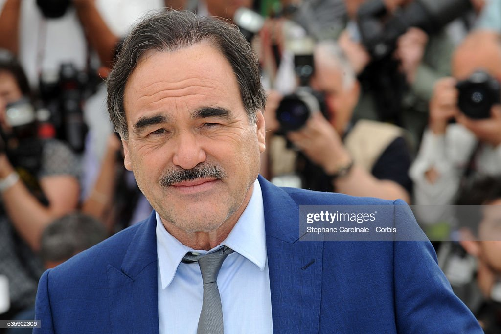 Oliver Stone at the photocall for 'Wall street : Money never sleeps' during the 63rd Cannes International Film Festival.