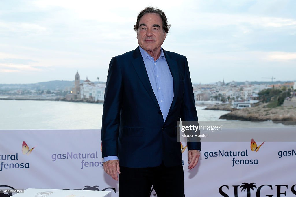 Oliver Stone Attends '48th Sitges Film Festival'