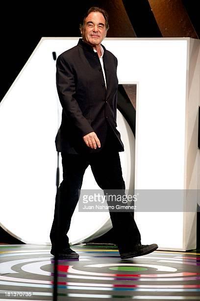 Oliver Stone attends the 61st San Sebastian Film Festival inauguration at Kursaal on September 20 2013 in San Sebastian Spain