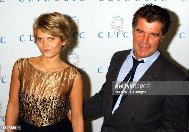 Oliver Tobias and wife Arabella at the Celebrity Possessions Auction in aid of Cancer and Leukaemia in Childhood at Christie's in London