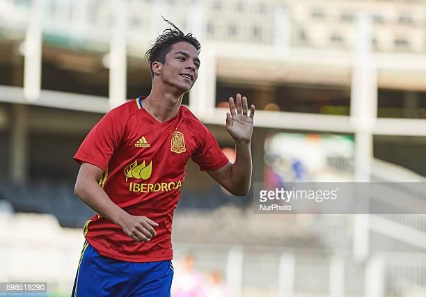 Oliver Torres of Spain U21 during the UEFA Euro U21 2017 Qualifiers match at Nou Estadi Castlia Castellon de la Plana