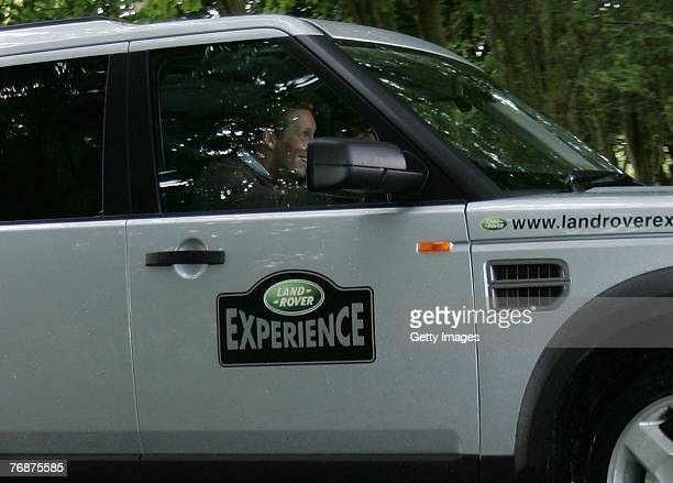 Oliver Townsend during the Land Rover British Eventing OffRoading Day at Eastnor Castle on September 19 2007 in Eastnor England