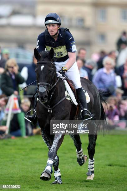 Oliver Townsend rides Coup De Coeur in the cross country competition