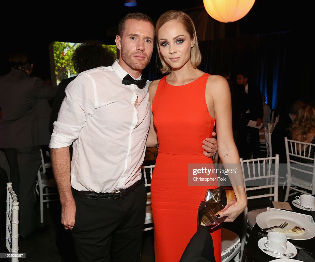 Oliver Trevenna and actress <a gi-track='captionPersonalityLinkClicked' href=/galleries/search?phrase=Laura+Vandervoort&family=editorial&specificpeople=4436690 ng-click='$event.stopPropagation()'>Laura Vandervoort</a> attend the 2nd Annual Saving Innocence Gala at The Crossing on December 5, 2013 in Los Angeles, California.