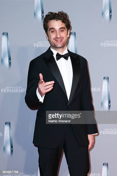 Oliver Wnuk attends the German Television Award at Rheinterrasse on January 13 2016 in Duesseldorf Germany