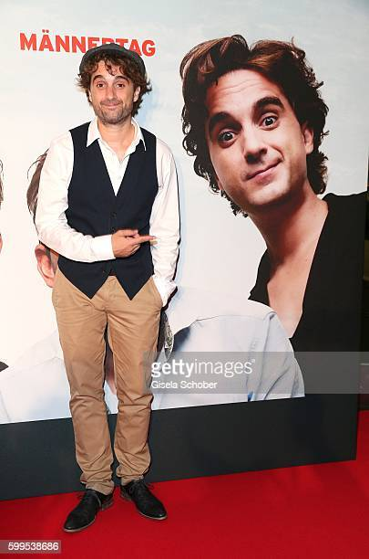 Oliver Wnuk during the premiere for the film 'Maennertag' at Mathaeser Filmpalast on September 5 2016 in Munich Germany