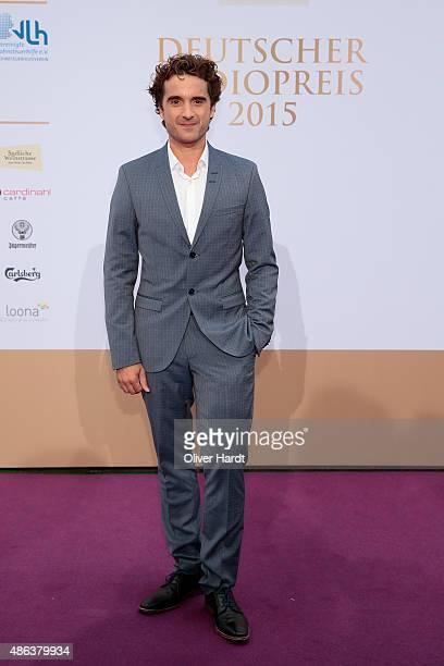 Oliver Wnuk poses during the Deutscher Radiopreis 2015 at Schuppen 52 on September 3 2015 in Hamburg Germany
