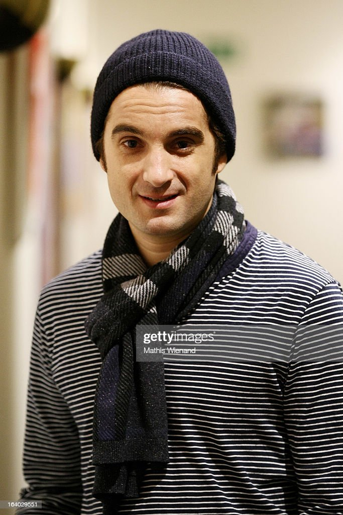 Oliver Wnuk (who plays Ulf) visits the set of 'Stromberg - Der Film' at Dorint Hotel on March 19, 2013 in Arnsberg, Germany.