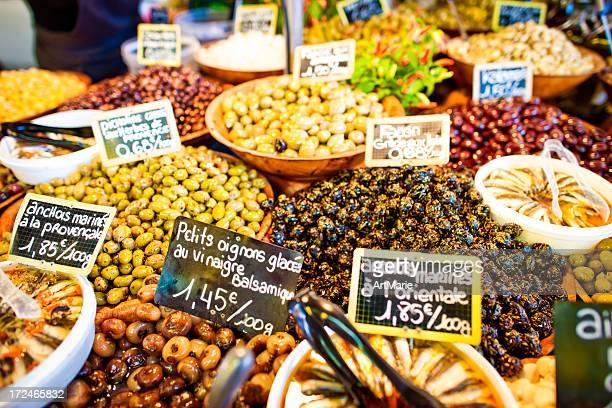 Olives en vente