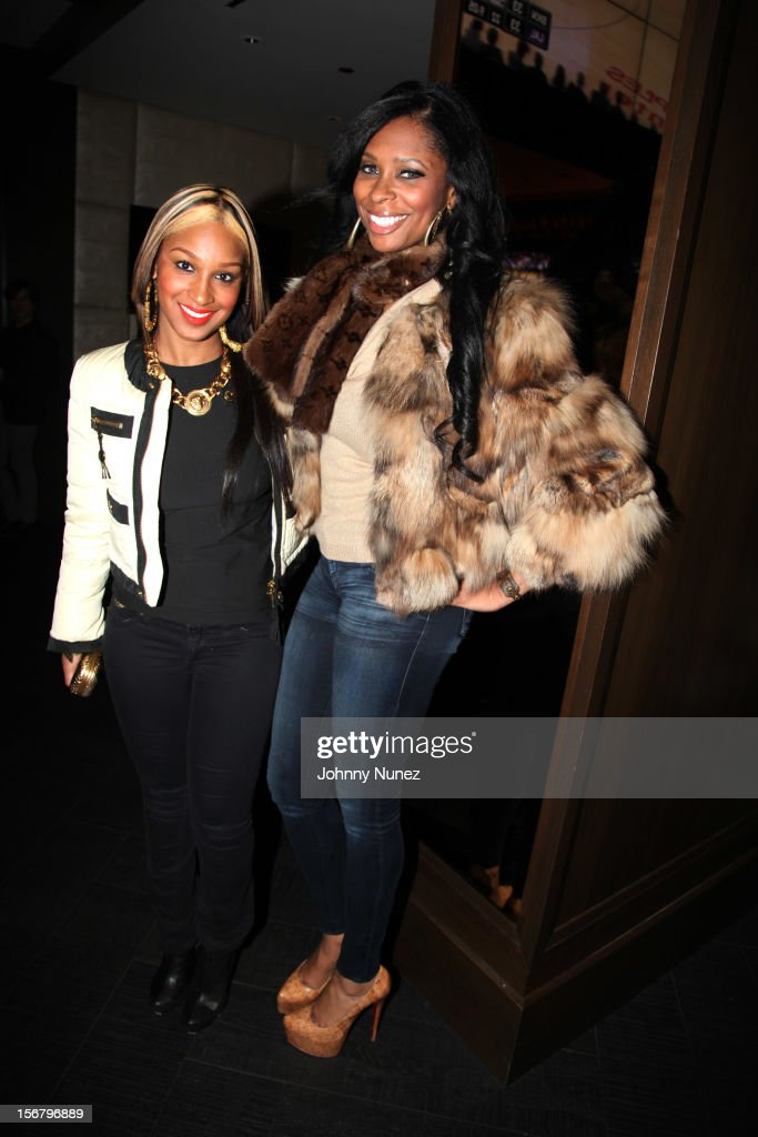 Olivia and Jennifer Williams attend Rihanna's 'Unapologetic' Record Release Party at 40 / 40 Club on November 20, 2012 in New York City.