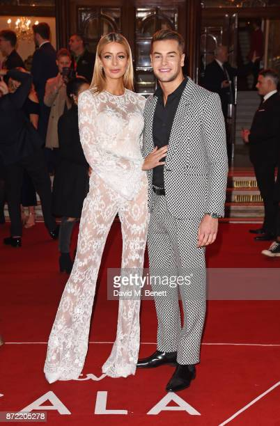 Olivia Attwood and Chris Hughes attend the ITV Gala held at the London Palladium on November 9 2017 in London England
