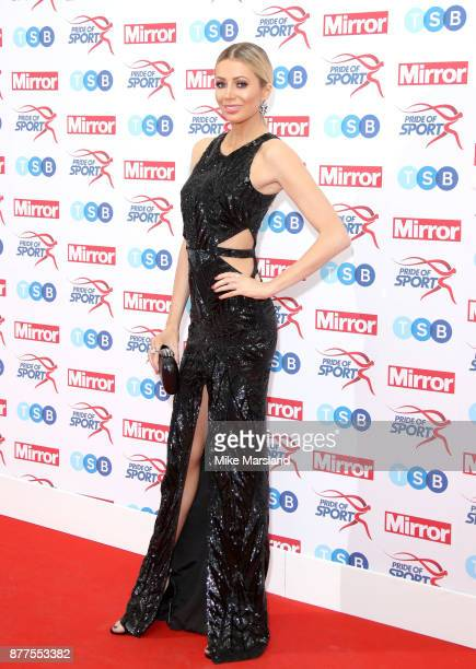 Olivia Attwood attends the Pride of Sport awards at Grosvenor House on November 22 2017 in London England