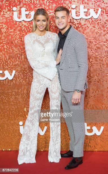 Olivia Attwood Chris Hughes arriving at the ITV Gala held at the London Palladium on November 9 2017 in London England