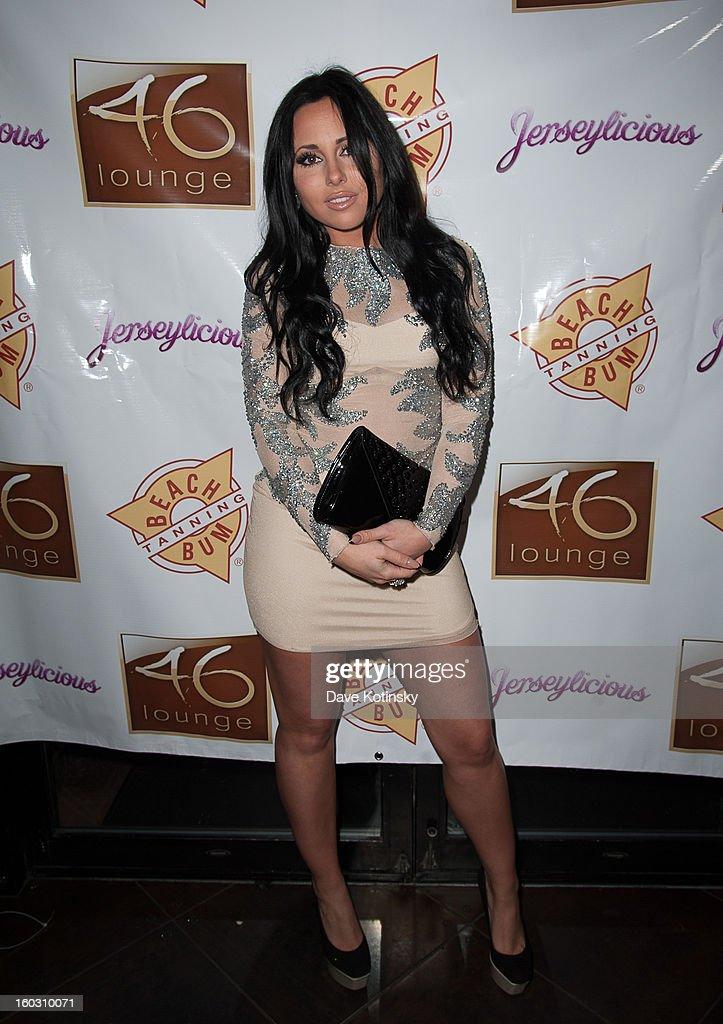 Olivia Blois Sharpe attends 'Jerseylicious' Season 5 Premiere Celebration at 46 Lounge on January 28, 2013 in Totowa City.
