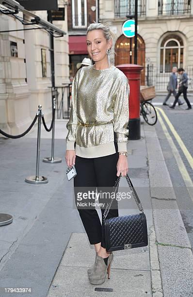 Olivia Buckingham attends Viva London Self Portraits hosted by Harper's Bazaar and Viva Model Management London at Moretti Fine Art on September 3...