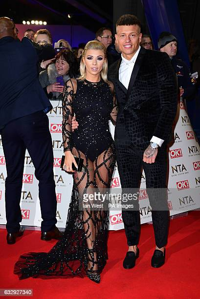 Olivia Buckland and Alex Bowen arriving at the National Television Awards 2017 held at The O2 Arena London PRESS ASSOCIATION Photo Picture date 25th...