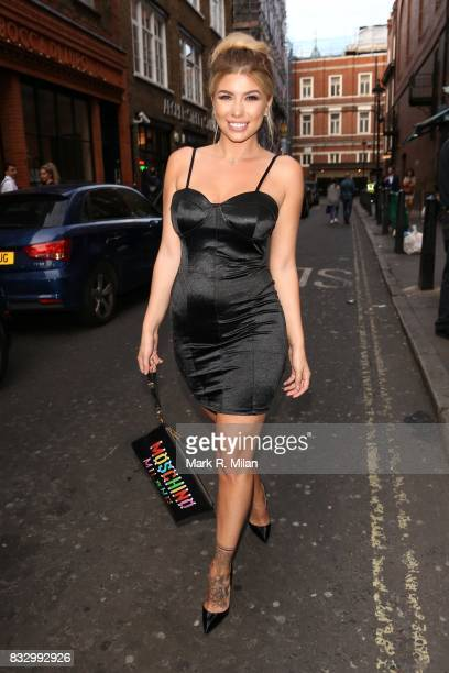Olivia Buckland attending the launch of the Olivia Attwood In The Style edit on August 16 2017 in London England
