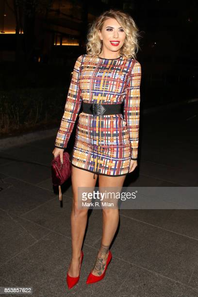 Olivia Buckland attending the W7 end of summer glow out party on September 25 2017 in London England