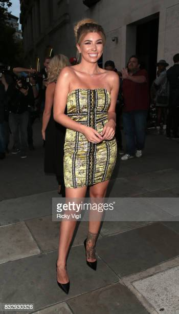 Olivia Buckland attends LOTD launch party at Radio Rooftop Bar on August 16 2017 in London England