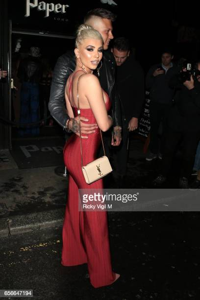 Olivia Buckland attends Sixty6 Magazine issue two launch party at Paper club on March 22 2017 in London England