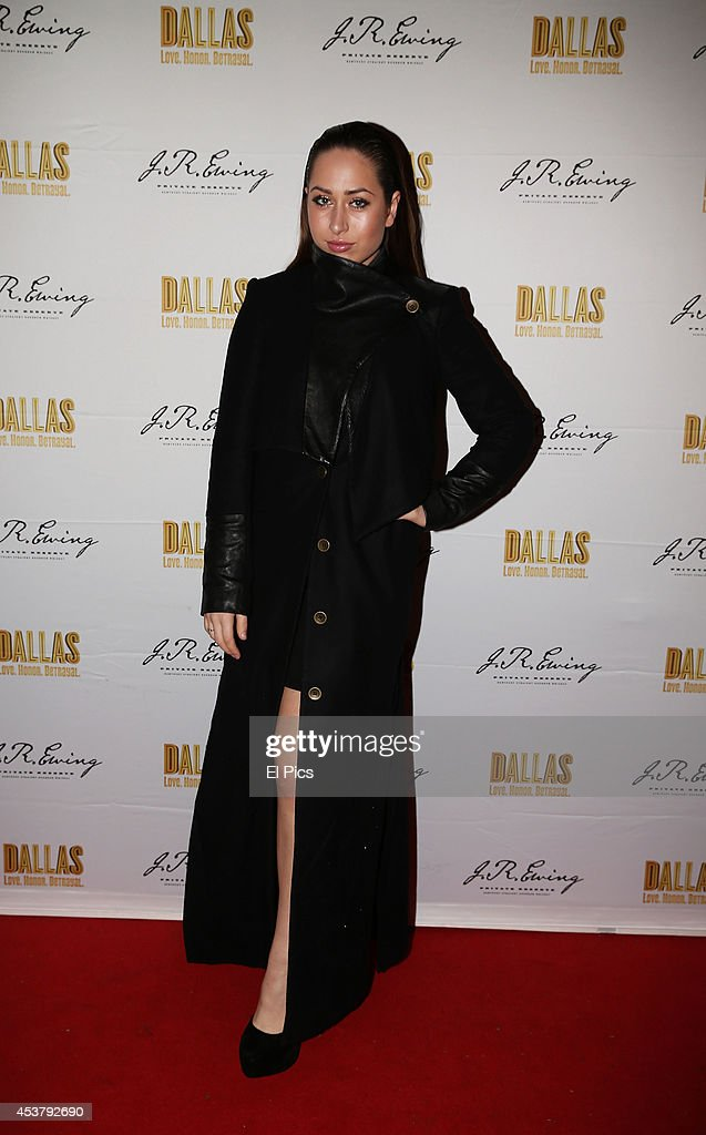 Olivia Caprareli attends the J.R. Ewing Bourbon's Launch Party on August 18, 2014 in Sydney, Australia.