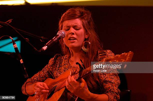 Olivia Chaney performs on stage at The Front Room on September 18 2009 in London England