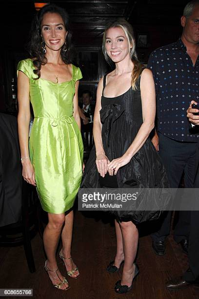 Olivia Chantecaille and Alexandra Lind Rose attend Roberta Armani Hosts Dinner to honor Roberto Bolle at Inn at Little West 12th St on June 18 2007...