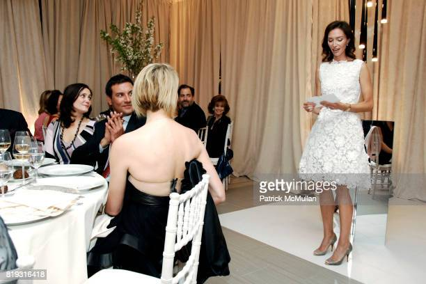Olivia Chantecaille and Speach attend SAKS FIFTH AVENUE VALENTINO Host a Dinner to benefit SAVE VENICE at Saks Fifth Avenue on April 14 2010 in New...