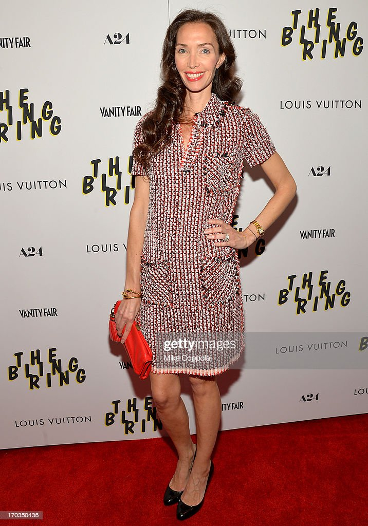 <a gi-track='captionPersonalityLinkClicked' href=/galleries/search?phrase=Olivia+Chantecaille&family=editorial&specificpeople=215298 ng-click='$event.stopPropagation()'>Olivia Chantecaille</a> attends 'The Bling Ring' screening at Paris Theatre on June 11, 2013 in New York City.