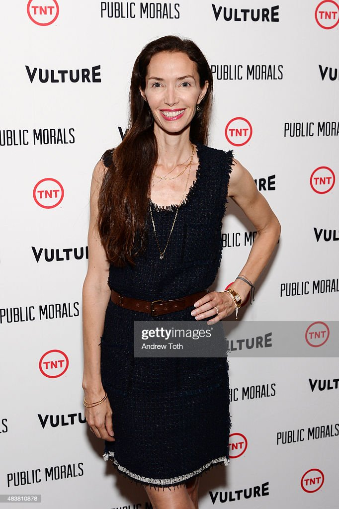 Olivia Chantecaille attends the 'Public Morals' New York series screening at Tribeca Grand Screening Room on August 12, 2015 in New York City.